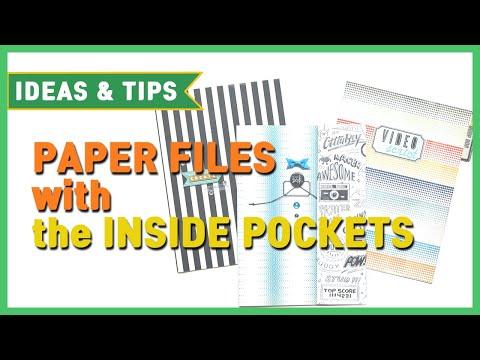 Crate Paper- Making paper files