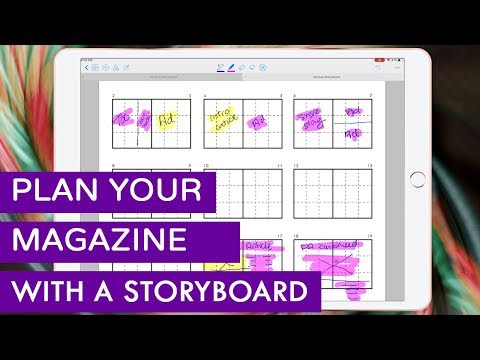 Plan your InDesign Publications with a Storyboard