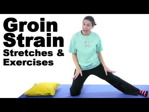 Groin Strain Stretches & Exercises - Ask Doctor Jo