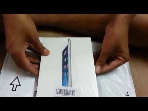 Unboxing video of iPad Mini ordered from Amazon India