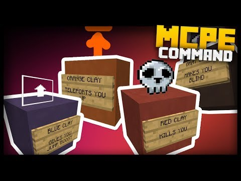 MCPE - How to Make PARKOUR BLOCKS with one command block!