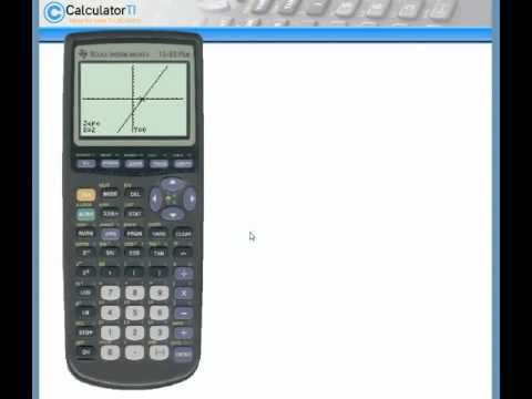 Solve for X by Graphing | TI-83 Plus and TI-84 Plus graphing calculators