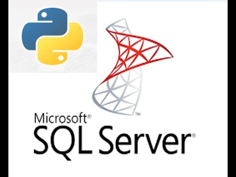 Connecting SQL Server database using python library.