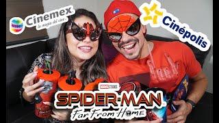 Download CINEMEX vs CINEPOLIS con la película 'Spiderman Far from Home' Video