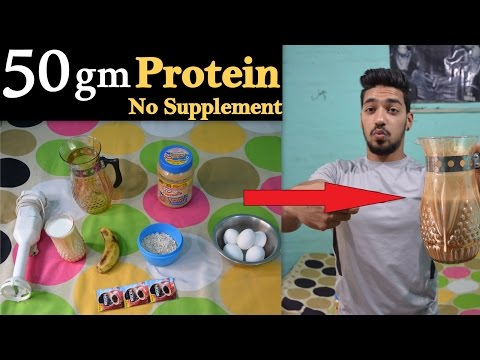 Easy Home Made Protein Shake Without Protein Powder