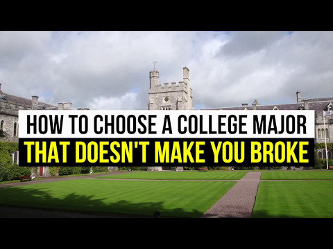 College Major Guide - How to Choose a College Major
