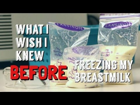 What I Wish I Knew BEFORE Freezing My Breastmilk
