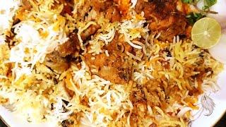 Hyderabadi Chicken  dum biryani  in pressure cooker  very  easy and delicious recipe.