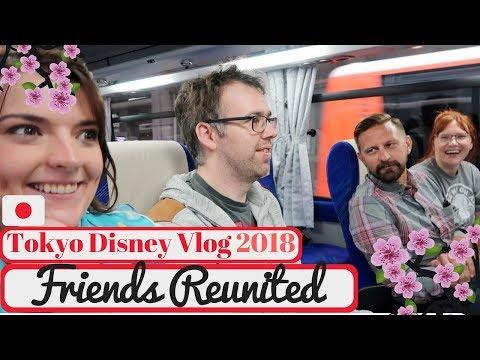 Tokyo Disneyland Vlog 2018 | We Are Reunited! & Hilton Tokyo Bay Hotel | KrispySmore #2