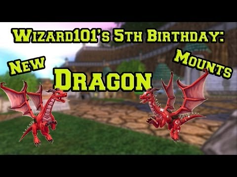 Wizard101: Showing Off the Pioneer and Frontier Dragon Mounts