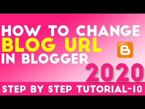 How To Change Blog URL In Blogger Hindi Urdu Tutorial 10 [desimesikho] 2018