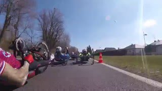 Handcycling is fast furious