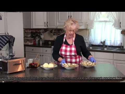 How to Make a Mexican Dessert Tortilla Bowl