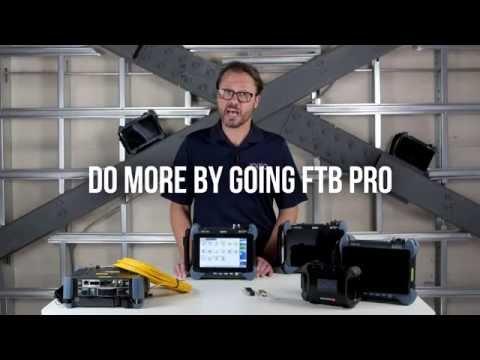 EXFO'S FTB PRO Platform