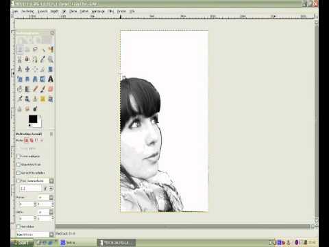 Tutorial Erstellen einer Stencilvorlage mit Gimp