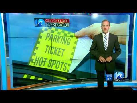 Parking Ticket Hot Spots