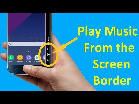 Play Music From Your Phone Screen Border