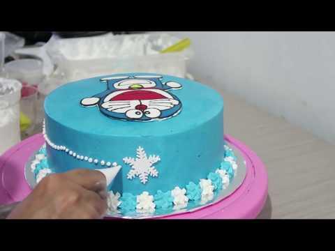 Video Menghias Kue Ulang Tahun Hello Kitty