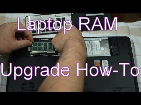 Easy How-To 4gb To 8gb RAM Laptop Upgrade With Crucial Memory On Acer Aspire E1-571