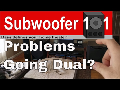 Dual Subwoofers: Possible Problems, Pitfalls, and Tips For Making It Work (Wireless, Mixed, Phase)