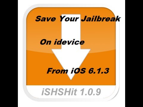 How To SAVE Your Jailbreak From NEW iOS 6.1.3 Update On iPhone 5/4s/4/3Gs,iPad,Mini,iPod Touch5Gen