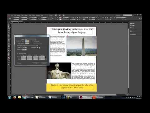 Setting Bleed and Margins for Print in Adobe InDesign