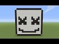 Minecraft Pixel Art - Marshmello