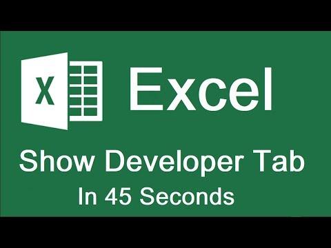 Enable Developer Tab in Excel for Mac | Enable Macros