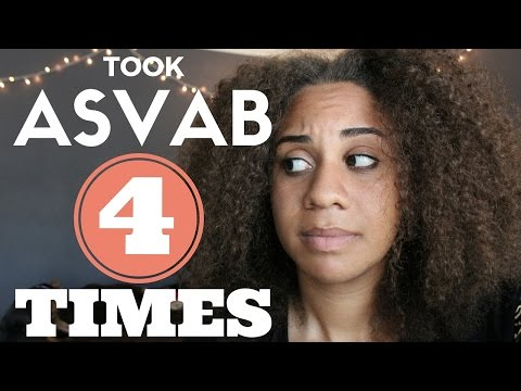 Military Story Time: Taking the ASVAB 4 times, confirmation test, and scoring an 80