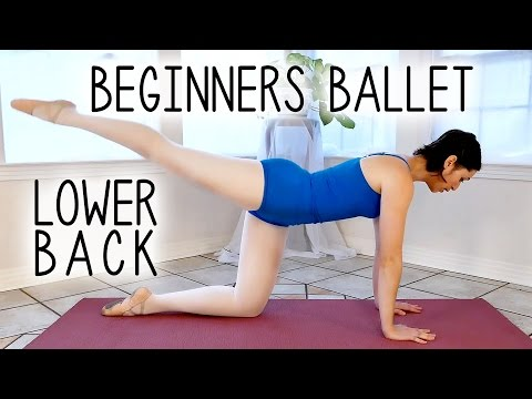 Ballet Beginners Workout | Glutes & Back Flexibility for Arabesque, Scorpion, Back Pain at Home