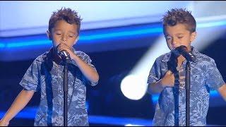 """Antonio y Paco: """"Te Quiero, Te Quiero"""" - Audiciones a Ciegas - La Voz Kids 2017"""