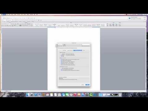 Turning Superscript off Word 2011 MAC