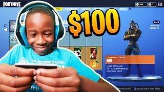 Kid Spends $100 On Season 6 *MAX* Battle Pass With Brother