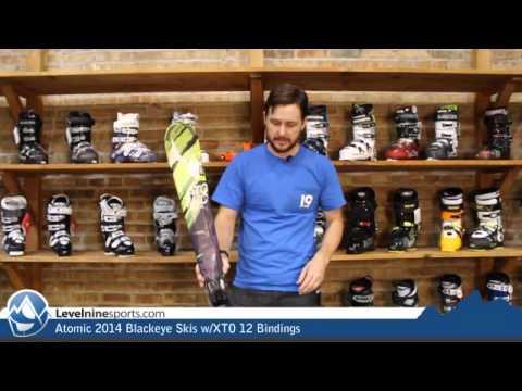 Atomic 2014 Blackeye Skis w/XTO 12 Bindings