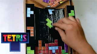 How to Make TETRIS GAME from CARDBOARD