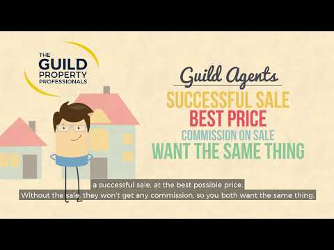 What is the 'no sale, no fee' estate agent model?