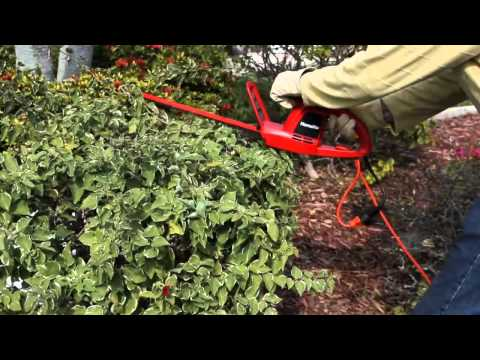 Homelite 17 in Hedge Trimmer.mp4