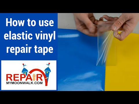 How To Use Elastic Vinyl Repair Tape