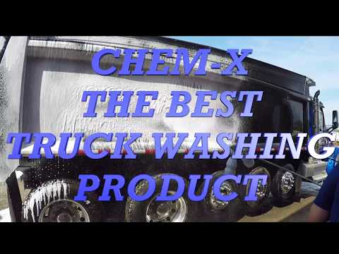 CHEM-X THE BEST TRUCK WASHING SOLUTION
