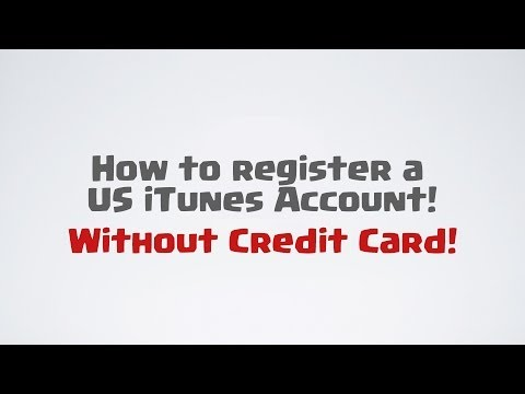 How to register a US iTunes account without US Credit Card