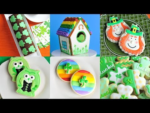 AMAZING SAINT PATRICK'S DAY COOKIES AND CAKES by HANIELA'S