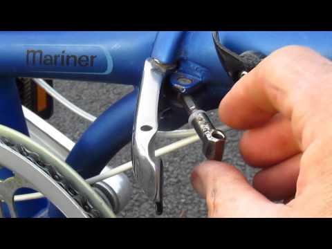 Fixing stripped threads on the DAHON MARINER FOLDING BIKE Hinge Bolt!