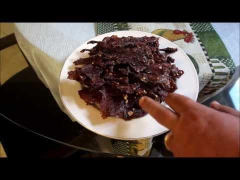 Best Thai Heavenly Beef Jerky Recipe