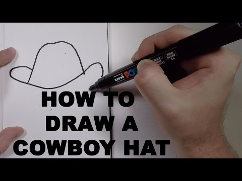 How to Draw a Cowboy Hat