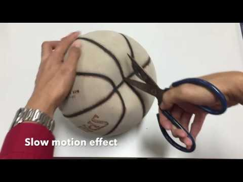 What is inside the basketball