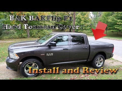 BAK BAKflip F1 Folding Hard Tonneau Cover on my 2015 RAM 1500