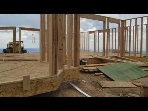Utah House Framing Progress
