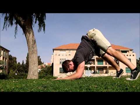 Hindu Pushups & Squats - gym-free workout #2