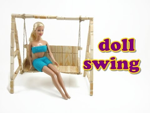 Doll Furniture Tutorial - Swing