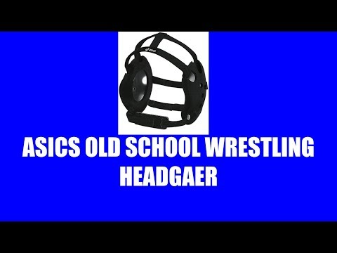 ASICS OLD SCHOOL WRESTLING HEADGEAR